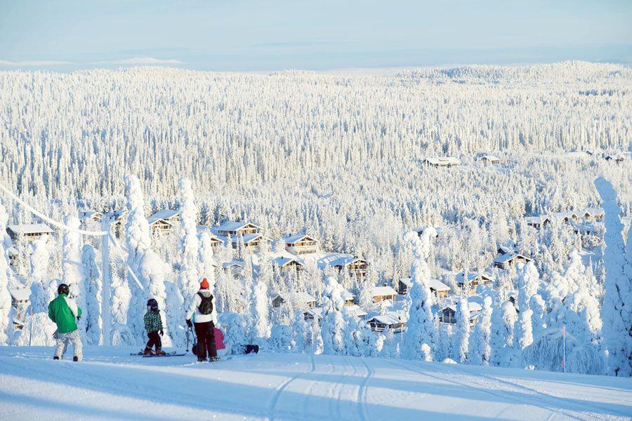 esqui ruka kuusamo