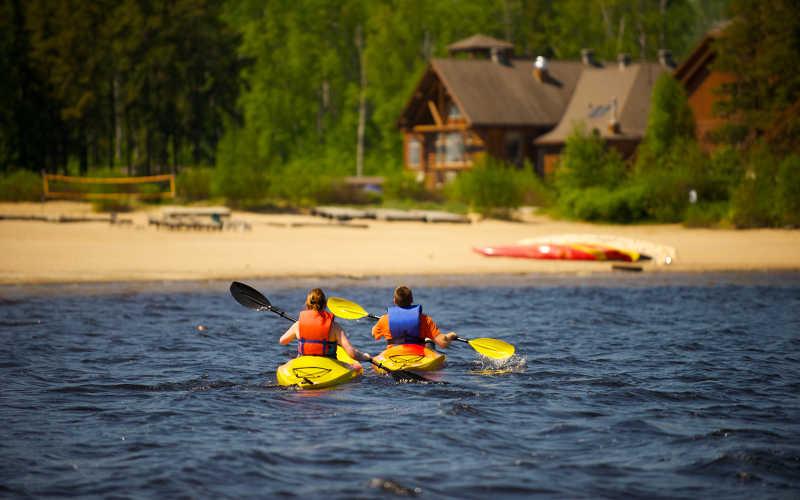 kayak en canada