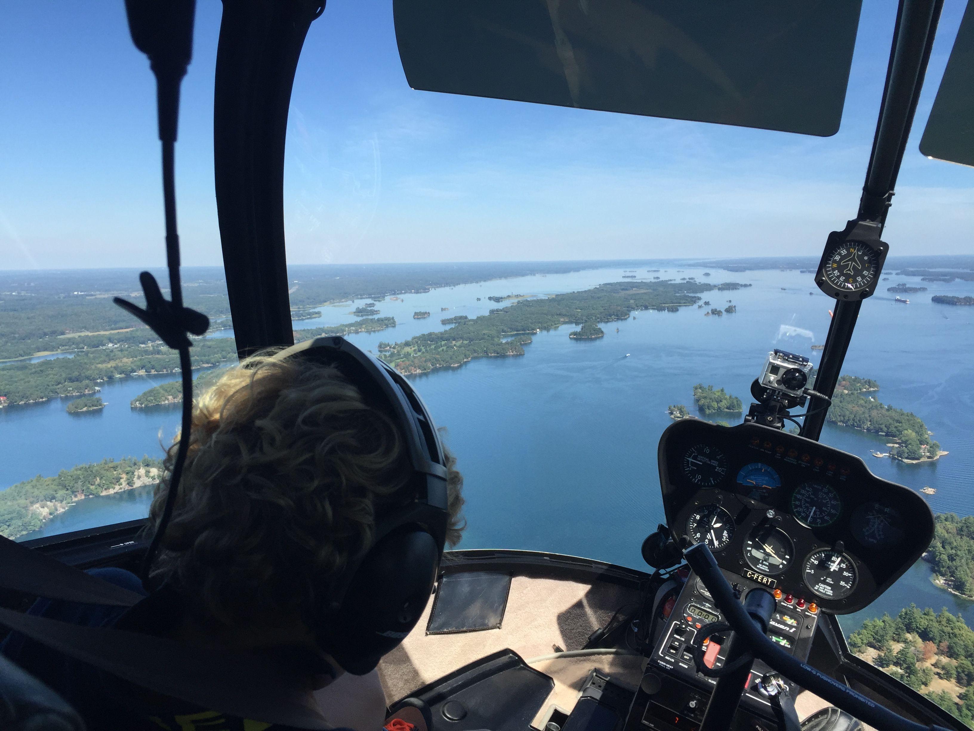 sobrevolar helicoptero mil islas