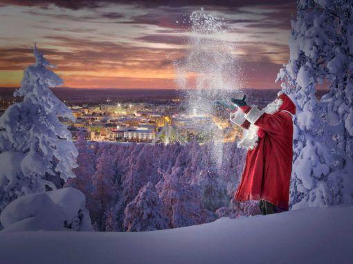 Viaje Laponia Ver Papa Noel