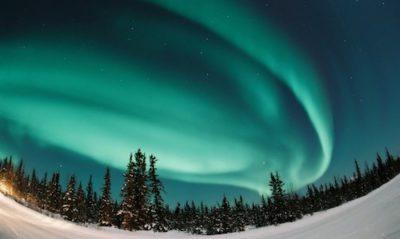 ver auroras boreales laponia