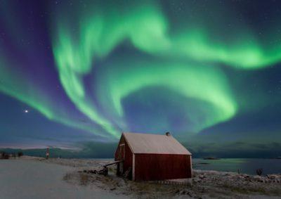 mejor época ver auroras boreals