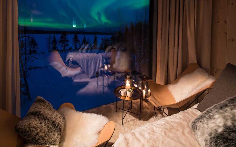 Suite de Luxe con Vista Auroras