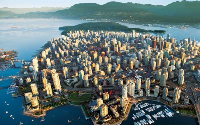 ver la vibrante ciudad de vancouver