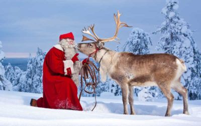 Ver Papa Noel en un viaje a Laponia