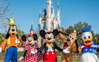 El parque de Disney World Orlando