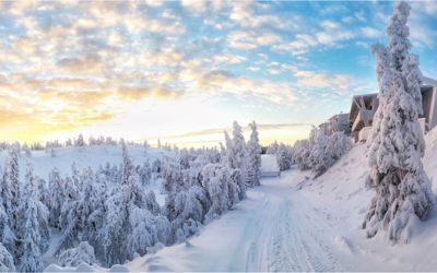 El resort de esqui de Ruka