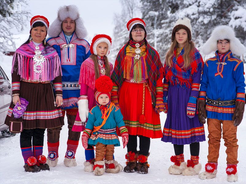Los indígenas samis de Noruega en Laponia